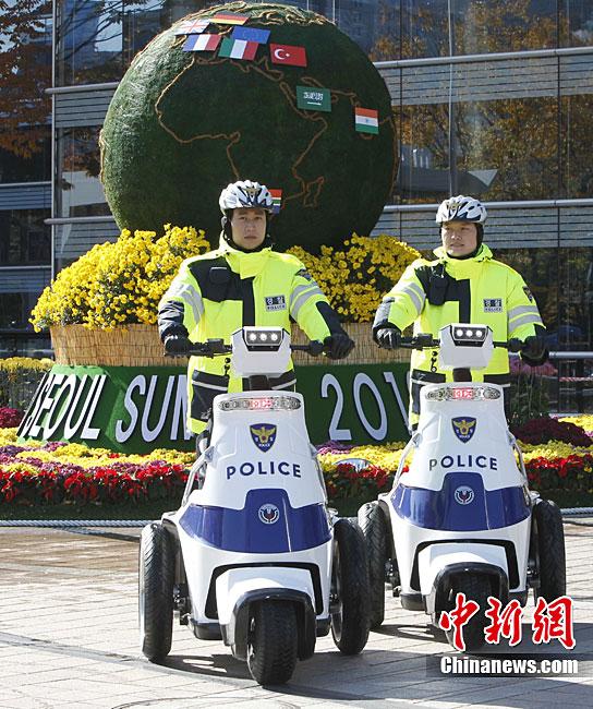 50 тысяч южнокорейских полицейских охраняют безопасность саммита «Большой Двадцатки» в РК