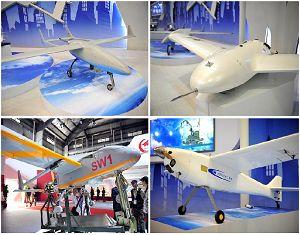 Китайские беспилотные самолеты на чжухайском авиасалоне