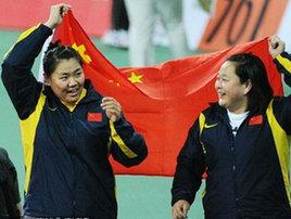Сборная Китая продолжает лидировать на Азиаде-2010