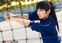Спортивные снимки красавицы Хуан И