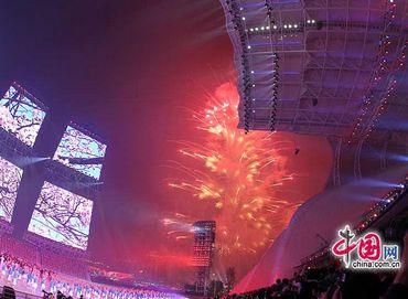 Прекрасные мгновения церемонии закрытия Азиатских игр в Гуанчжоу