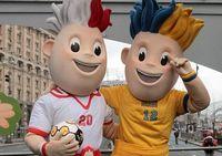 В Киеве показали талисманов Евро-2012