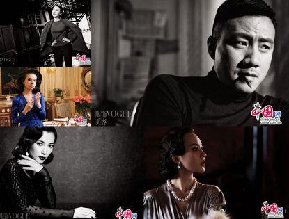 5 звезд попали в журнал «VOGUE» на тему «Роль в модном фильме»