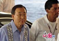 Генеральный секретарь ООН Пан Ги Мун прибыл в Канкун на Конференцию о климатических изменениях