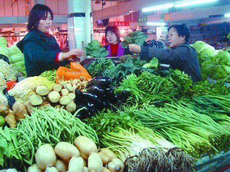 Китай - мировой лидер по производству овощей на душу населения