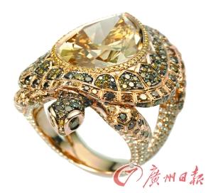 Красивые ювелирные украшения из роскошных цветных бриллиантов  font  style