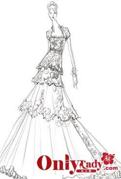 8608684aced Набор эскизов свадебного платья Кейт Миддлтон Набор эскизов свадебного  платья Кейт Миддлтон