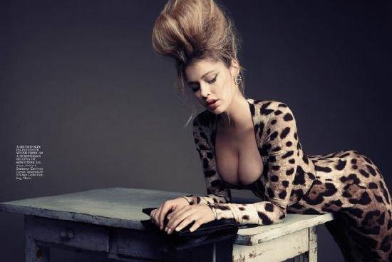 Девушка в леопардовом фото 678-848