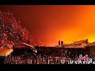 Красивые зимние пейзажи на северо-востоке Китая