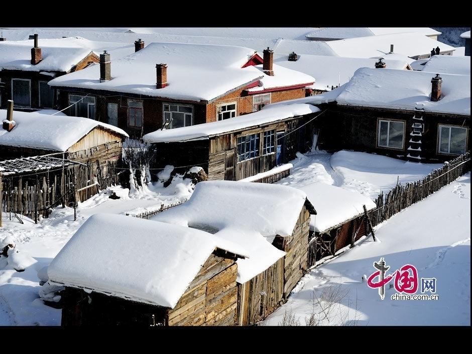 Красивые зимние пейзажи на северо