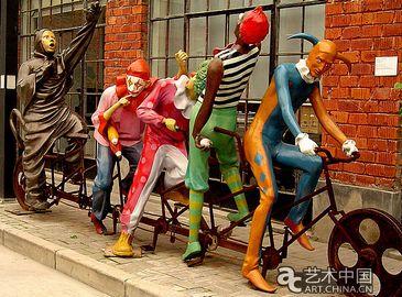 Арт-центр скульптур в Шанхае