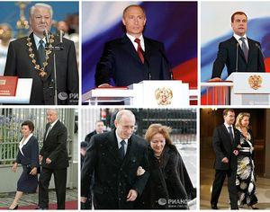 20 лет истории президентства в России