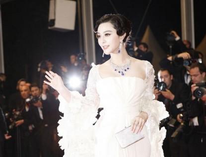 Фань Бинбин - на премьере фильма «Polisse»