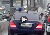 Водитель Шойгу угрожал 'выстрелить в голову' участнику движения на МКАД