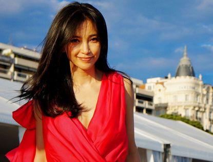Китайская звезда Ли Бинбин в Каннах