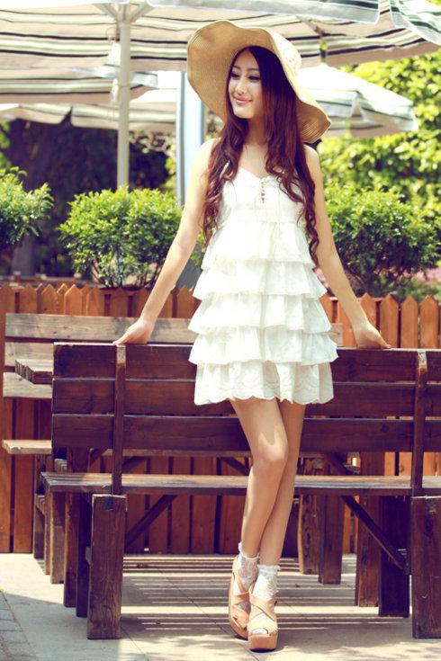 красивые девушки фото в платьях