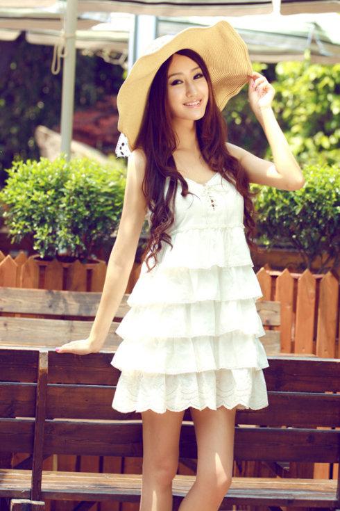 красивые фото девушки в платьях