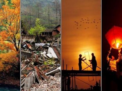 Третья годовщина мощного землетрясения в уезде Вэньчуань0