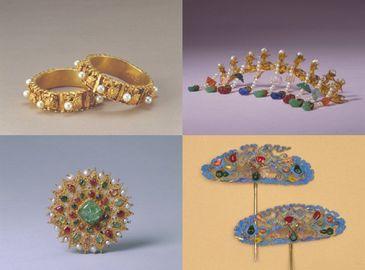 Изысканные ювелирные украшения жен императоров династий Цин