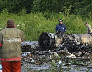 44 человека погибли при катастрофе Ту-134 под Петрозаводском -- МЧС