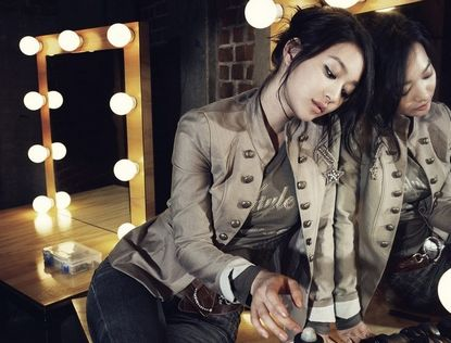 Восходящая южнокорейская звезда Шин Мин А