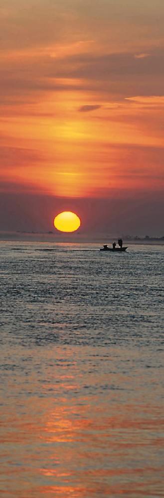 «Нарядный» остров Хэйсяцзы (Большой Уссурийский) встречает туристов