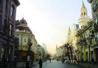 Центральный проспект в г. Харбин
