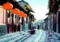 Древняя улица Чжаодэ в г. Цинчжоу