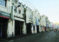 Улица Цилоу в г. Хайкоу провинции Хайнань