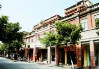 Улица Чжуншань в г. Цюаньчжоу