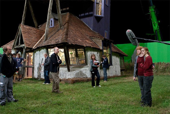 Фото съемок фильма гарри поттер эвелина бледанс показала сына