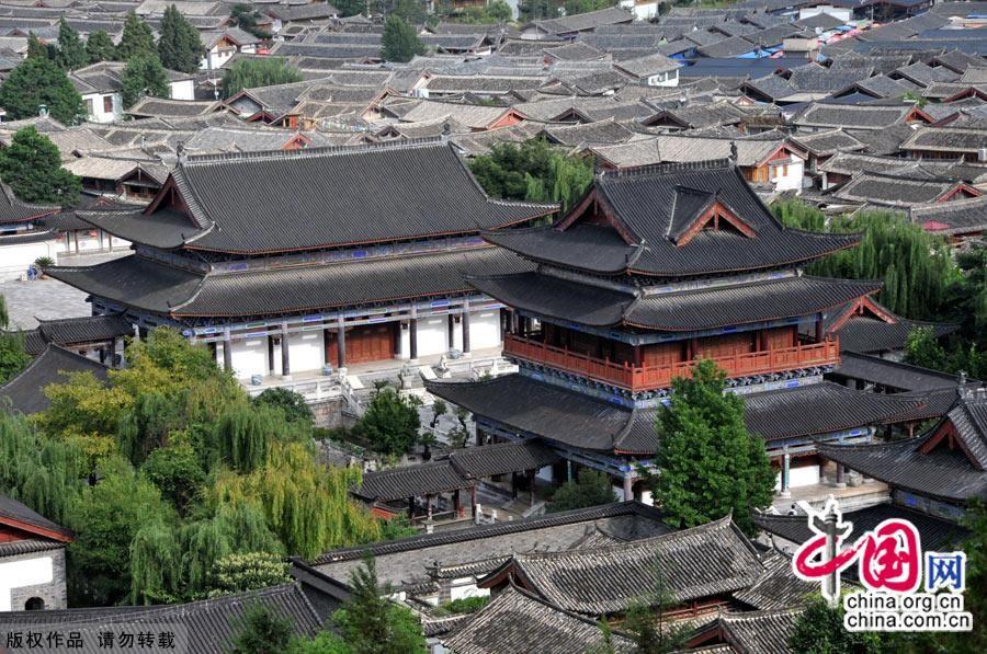 Древний городок Лицзян в провинции Юньнань
