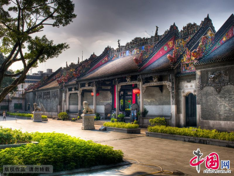 Родовой храм семьи Чэнь в провинции Гуандун