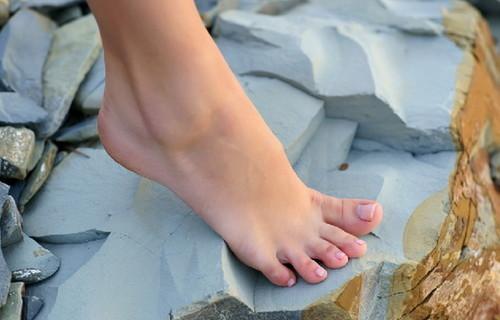 Сексуальный женский ноги