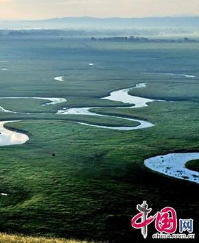 Прекрасные пейзажи в уезде Гуюань