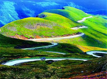 Горы Чанбайшань в провинции Цзилинь