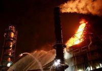 Пожар вспыхнул на нефтеперерабатывающем заводе в Шанхае, пострадавших нет