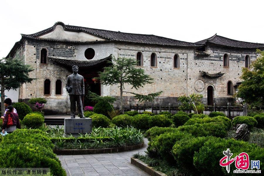 Древний поселок Хэшунь в провинции Юньнань