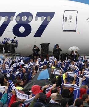 Авиалайнер Боинг-787 передан Японии