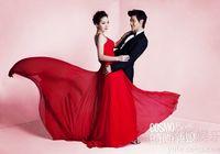 Сянганская телезвезда Дин Цзыцзюнь со своей супругой в свадебных снимках