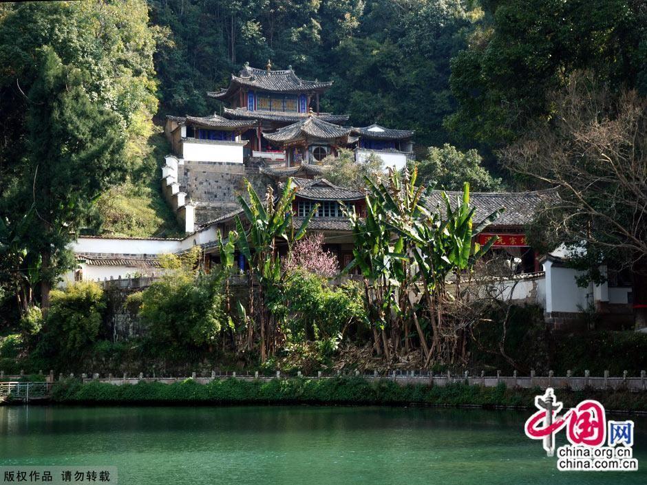 Тэнчун – известный историко-культурный городок в провинции Юньнань