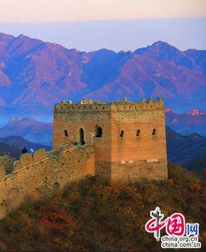 Осенние пейзажи на Великой китайской стене