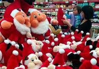 Атмосфера Рождества в городе Фучжоу