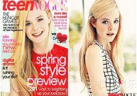 Элл Фэннинг попала на «Teen Vogue»