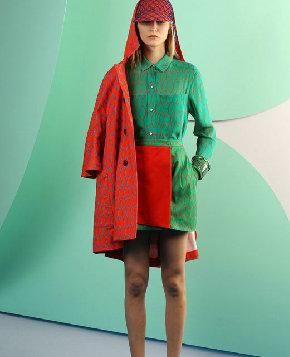 Модная женская одежда на весну-лето 2012 от «Kenzo» 1