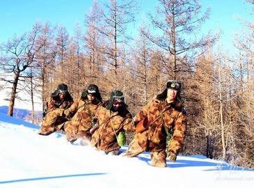 Служба Родине в условиях с температурой в 30℃ ниже нуля