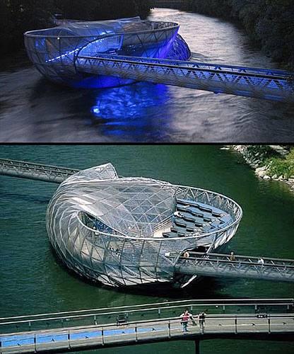 Оригинальные пейзажи: Новаторские мосты