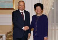 Встреча спецпредставителя председателя КНР с президентом Узбекистана