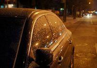 В Пекине выпал первый в новом году снег