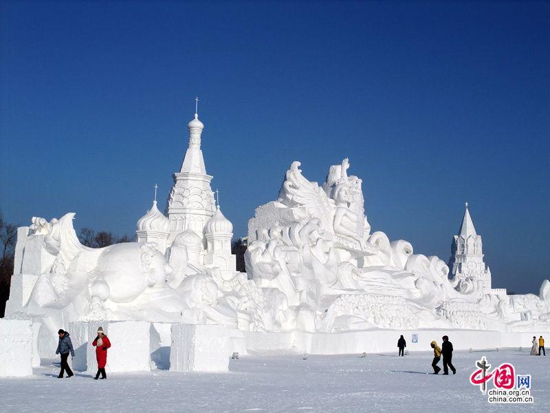 Фестиваль льда и снега на острове Тайяндао